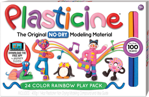Plasticine 24 Color Play Pack - JKA Toys
