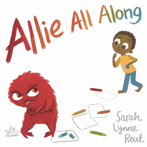 Allie All Along Hardcover Book