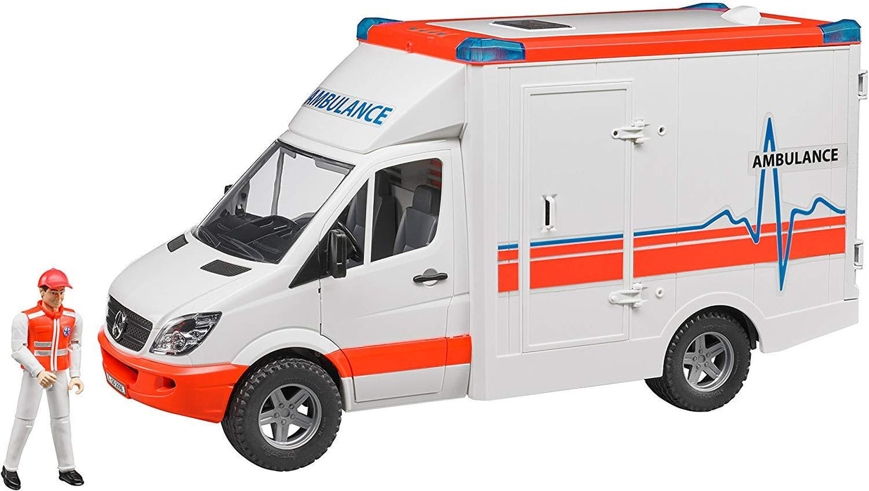Bruder MB Sprinter Ambulance - JKA Toys