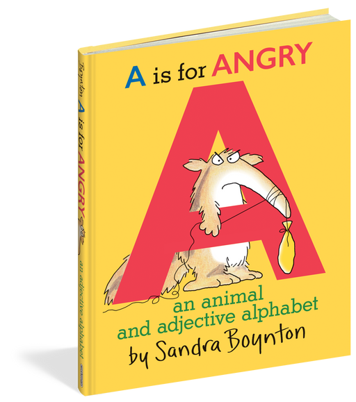 A is for Angry: An Animal and Adjective Alphabet Book - JKA Toys