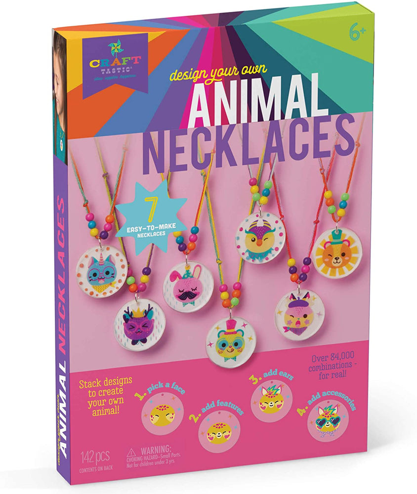 Design Your Own Animal Necklaces - JKA Toys