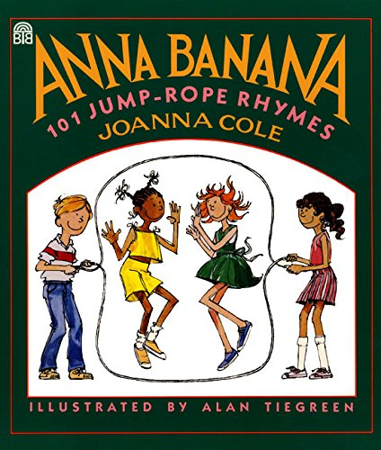 Anna Banana: 101 Jump-Rope Rhymes Softcover Book - JKA Toys