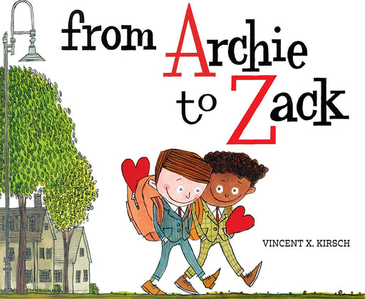 From Archie to Zack Hardcover Book - JKA Toys
