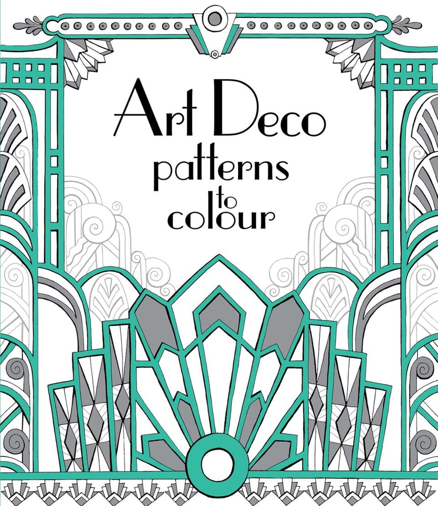 Art Deco Patterns To Color - JKA Toys