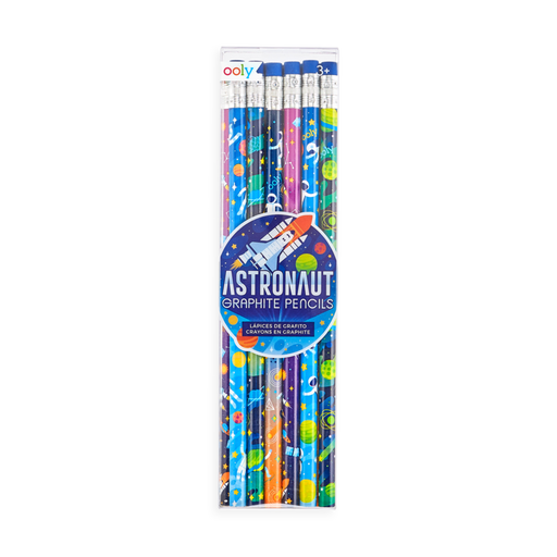 Astronaut Graphite Pencils - Set of 12 - JKA Toys