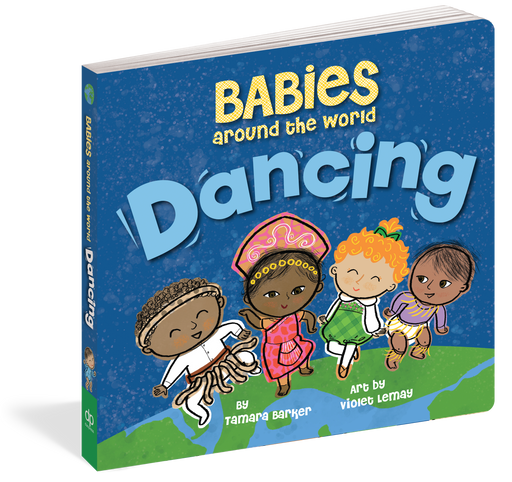 Babies Around The World: Dancing Board Book - JKA Toys