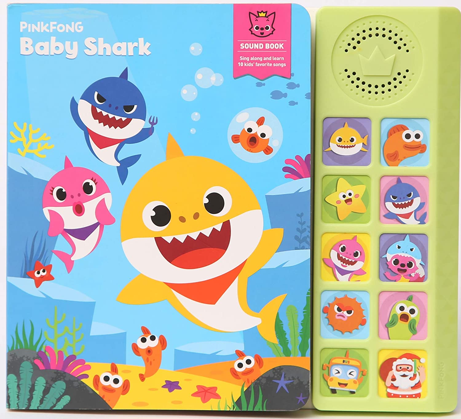 Baby Shark Sing Along Book - JKA Toys