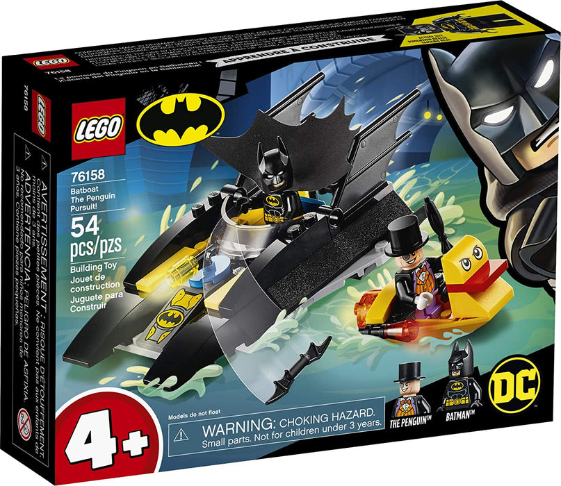 LEGO Batboat The Penguin Pursuit! - JKA Toys