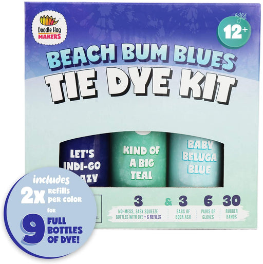 Beach Bum Blues Tie Dye Kit - JKA Toys
