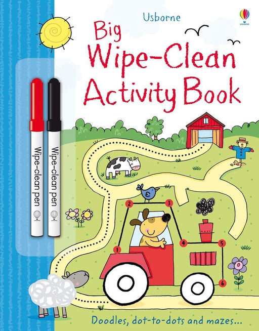 Big Wipe Clean Activity Book - JKA Toys
