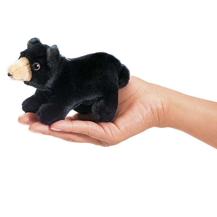 Black Bear Finger Puppet - JKA Toys