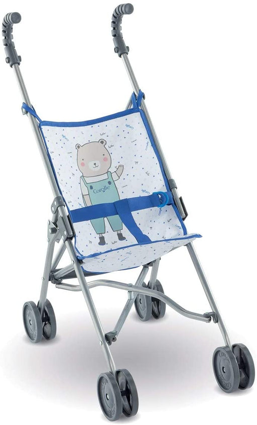 Blue Umbrella Doll Stroller - JKA Toys