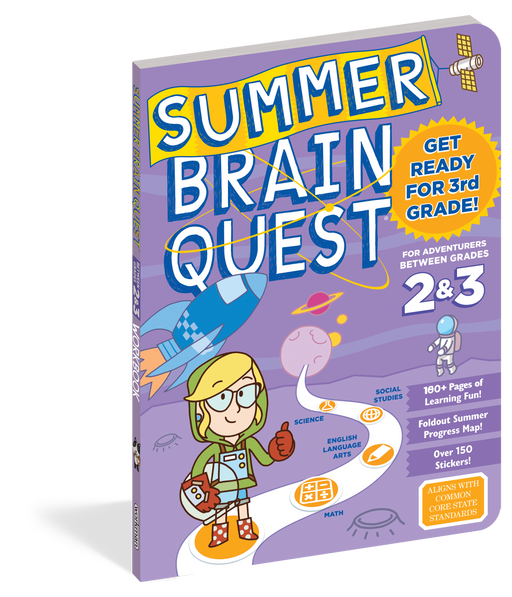 Summer Brain Quest: Between Grades 2 & 3 - JKA Toys