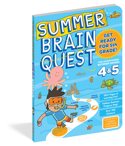 Summer Brain Quest: Between Grades 4 & 5 - JKA Toys