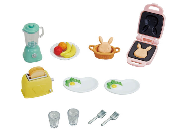 Calico Critters Breakfast Playset - JKA Toys