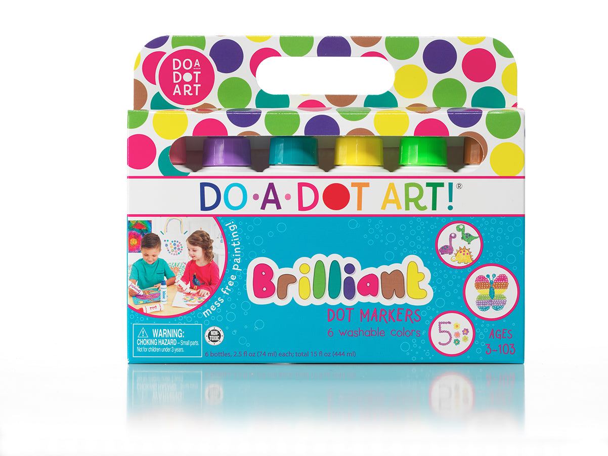 Do-A-Dot Brilliant Dot Markers - JKA Toys