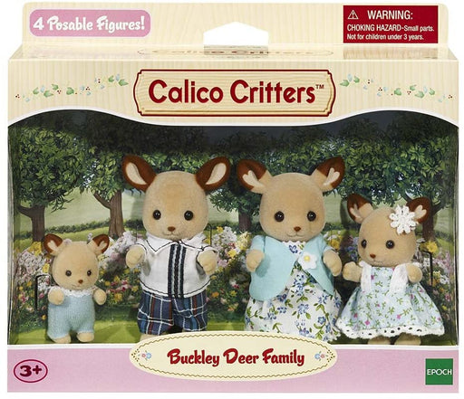 Calico Critters Buckley Deer Family - JKA Toys
