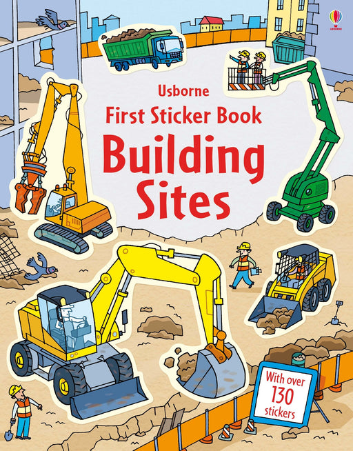 First Sticker Book Building Sites - JKA Toys