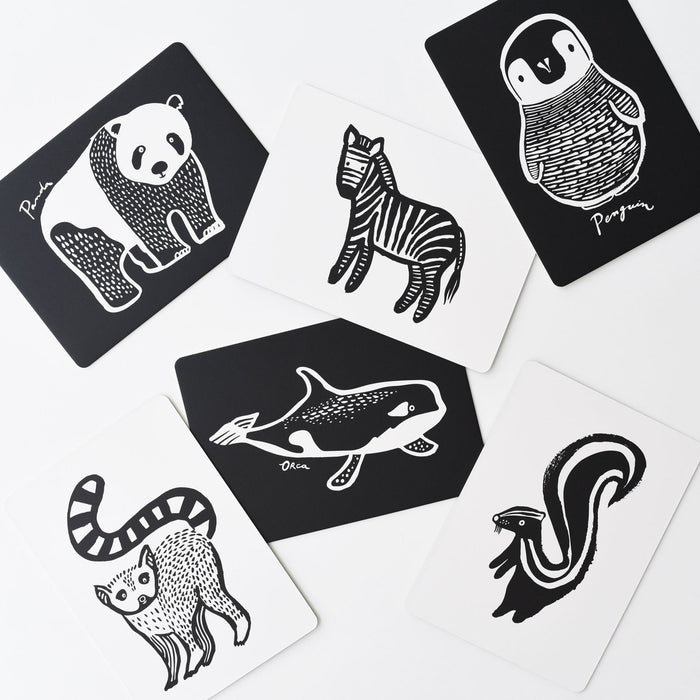 Art Cards For Baby -  Black and White Collection - JKA Toys