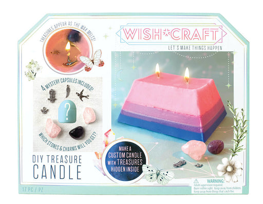 DIY Treasure Candle - JKA Toys