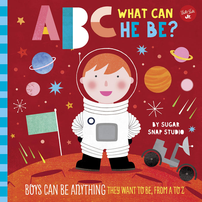 ABC What Can He Be? Board Book - JKA Toys