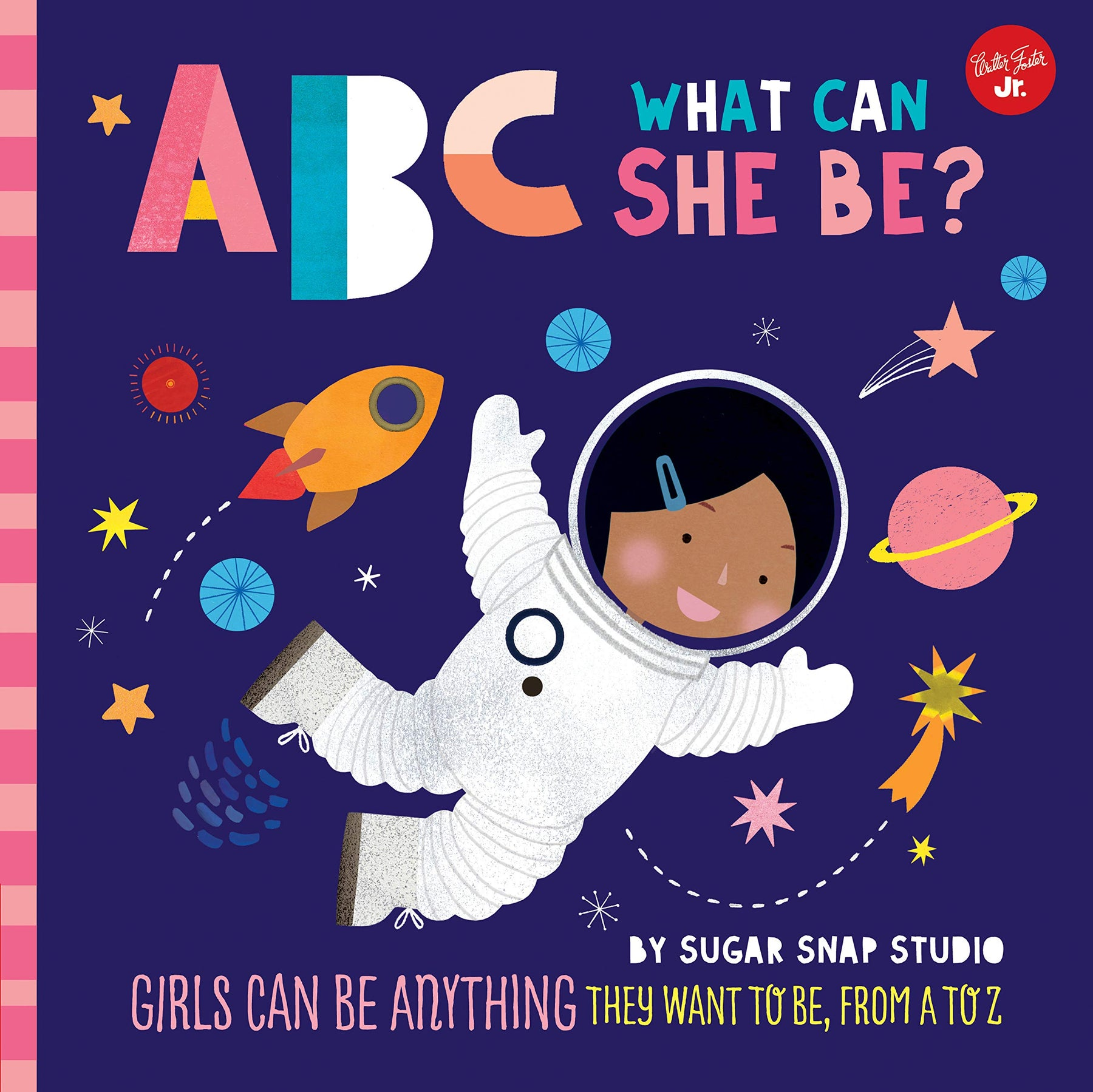 ABC What Can She Be? Board Book - JKA Toys