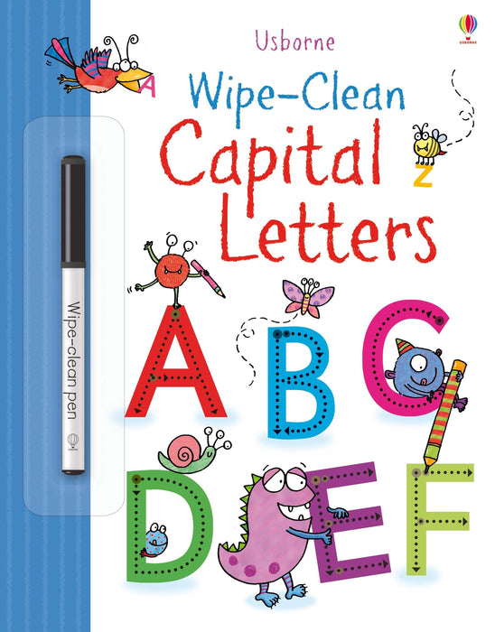 Wipe-Clean Capital Letters - JKA Toys