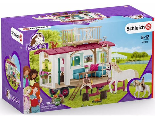 Schleich Horse Club Caravan for Secret Club Meetings - JKA Toys