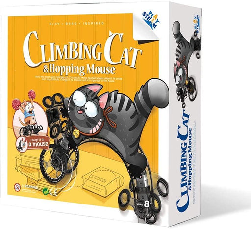 Climbing Cat & Hopping Mouse - JKA Toys