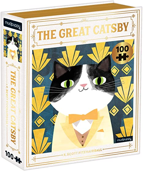 100 Piece The Great Catsby Puzzle - JKA Toys