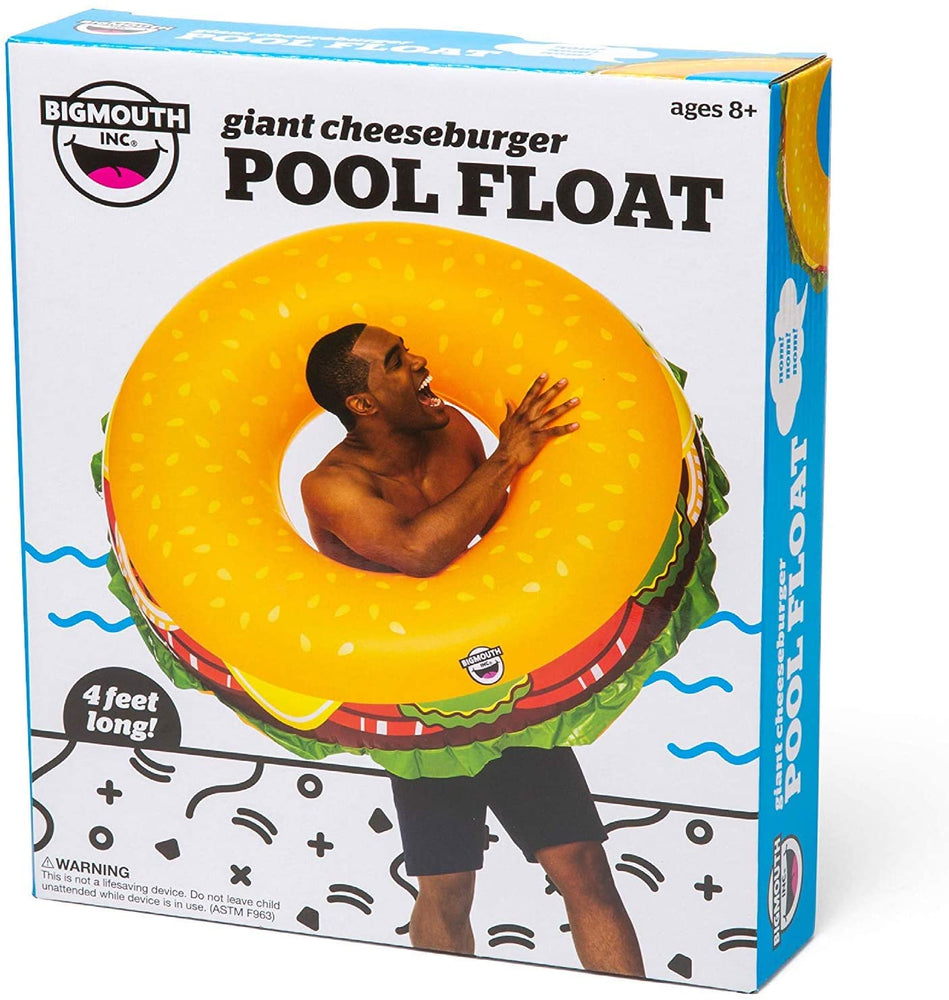 Giant Cheeseburger Pool Float - JKA Toys