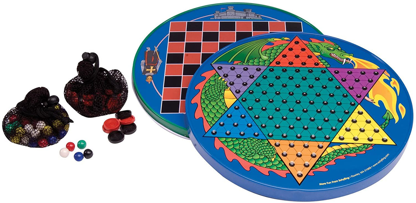 Tin Chinese Checkers - JKA Toys