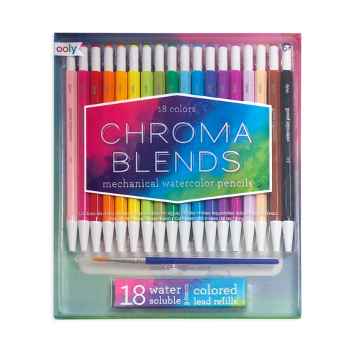 Chroma Blends Mechanical Watercolor Pencils - JKA Toys