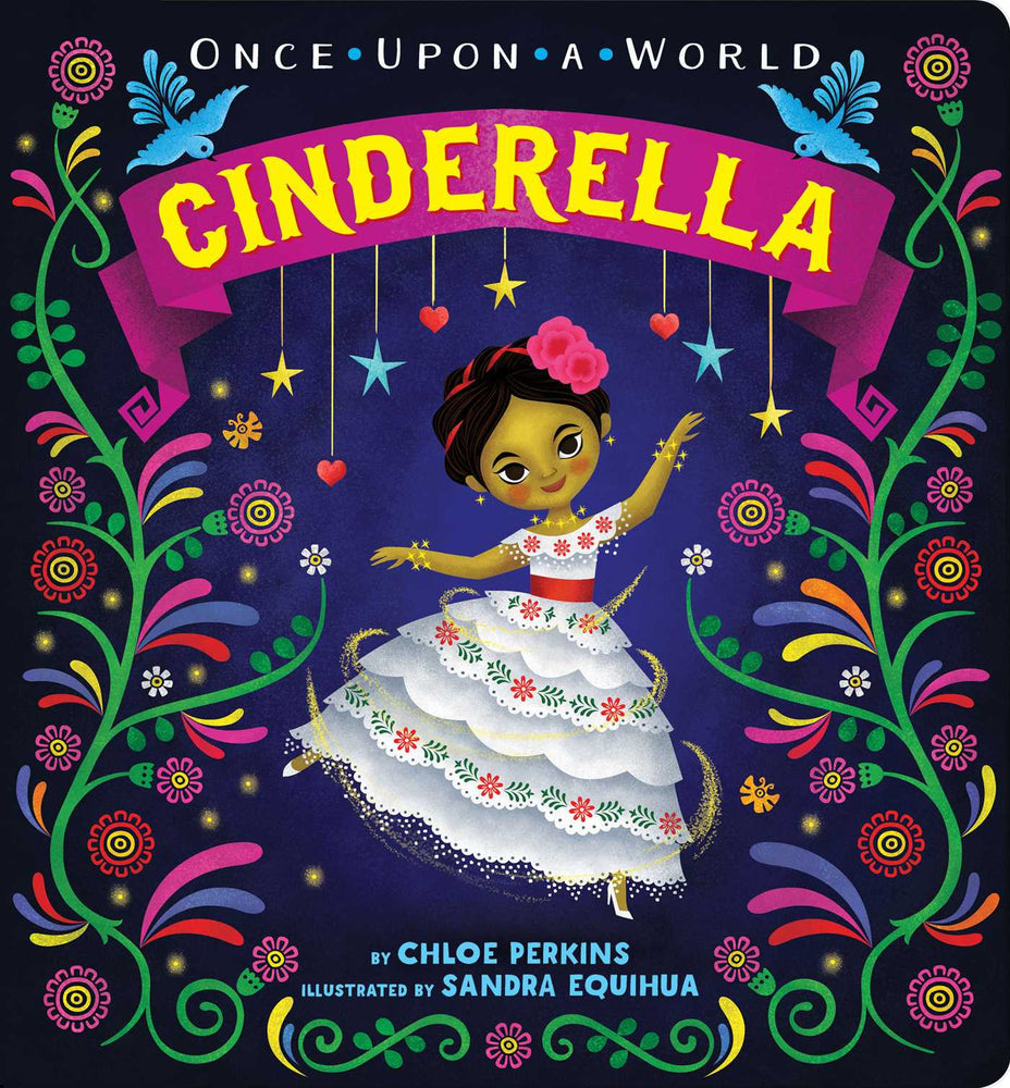Once Upon a World Cinderella Board Book