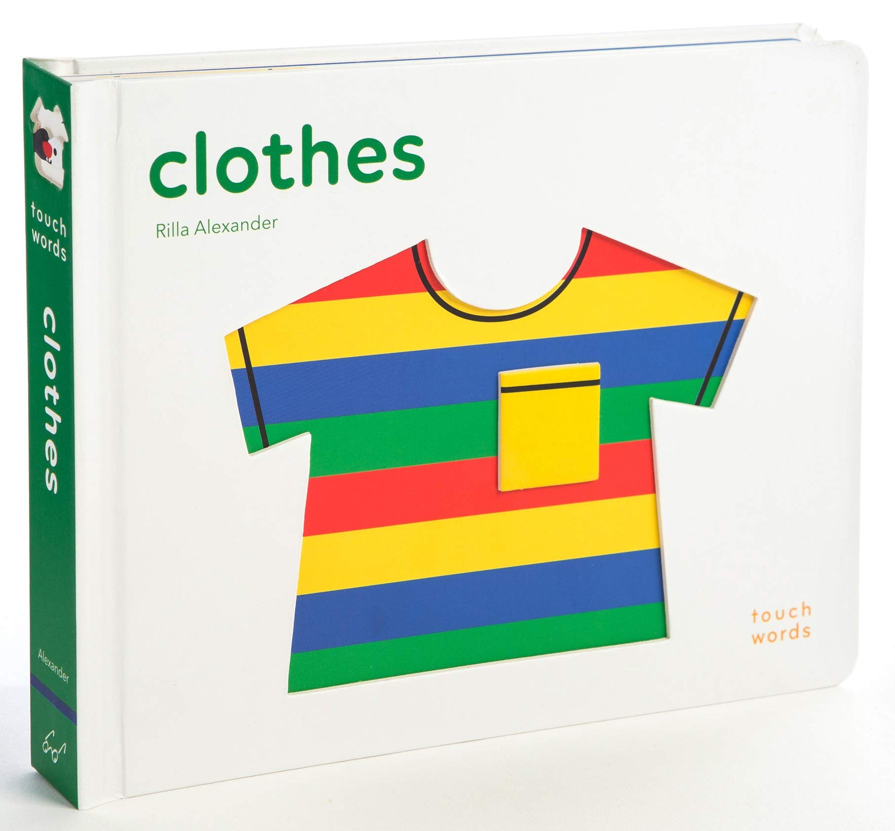 TouchThinkLearn: Clothes Board Book - JKA Toys