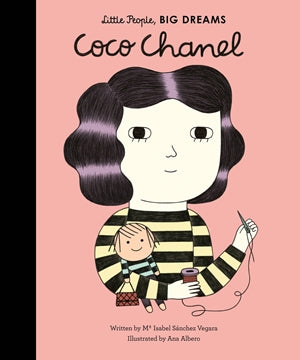 Little People, Big Dreams: Coco Chanel Hardcover Book - JKA Toys