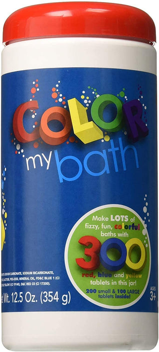 Color My Bath Fizzies - 300 Piece - JKA Toys