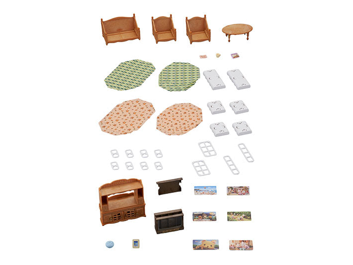 Calico Critters Comfy Living Room Set - JKA Toys