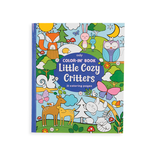 Little Cozy Critters Coloring Book - JKA Toys