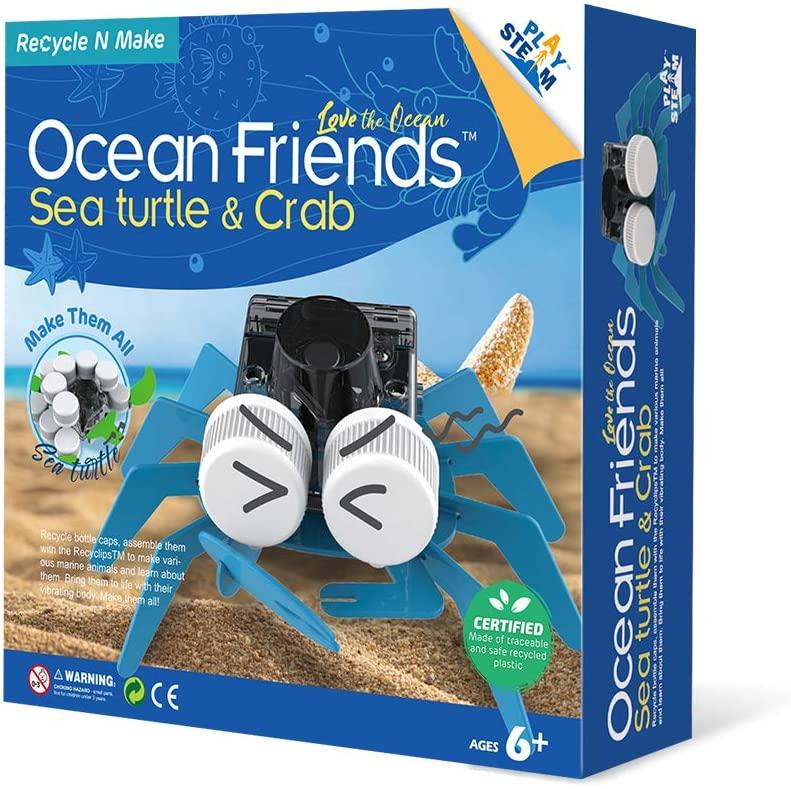 Recycle N Make Ocean Friends Sea Turtle & Crab - JKA Toys