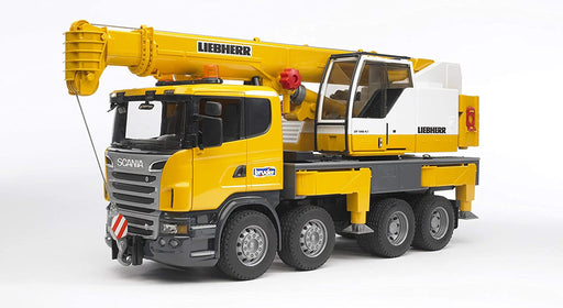 Bruder Liebherr Crane with Lights & Sounds - JKA Toys