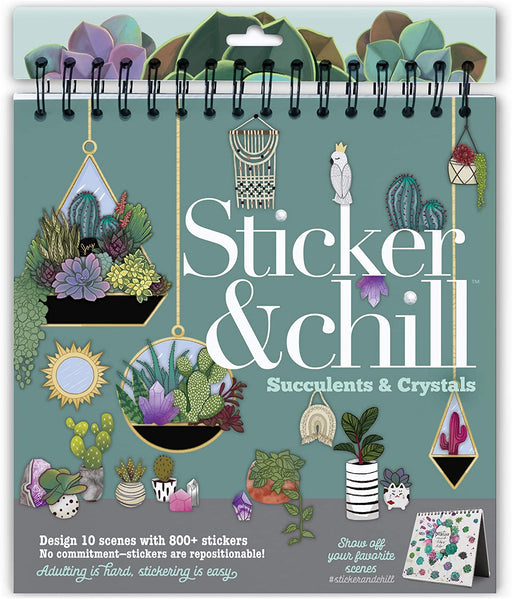 Sticker & Chill: Succulents & Crystals - JKA Toys