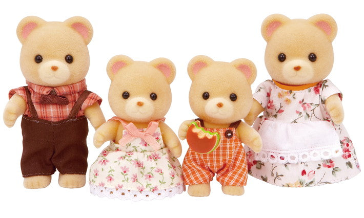 Cuddle Bear Family - JKA Toys