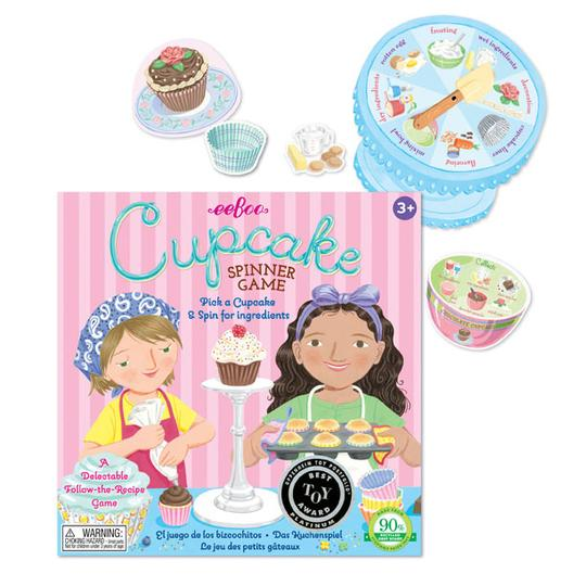 Cupcake Spinner Game - JKA Toys