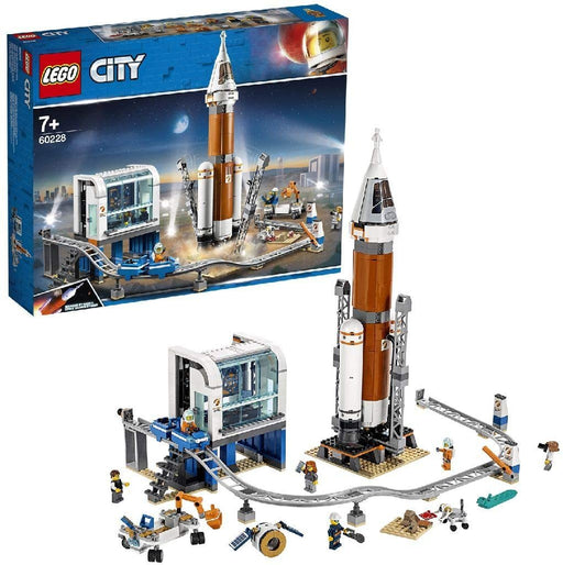 Deep Space Rocket and Launch Control - JKA Toys