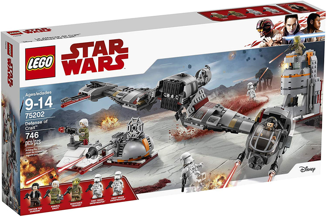 LEGO Star Wars: Defense of Crait - JKA Toys