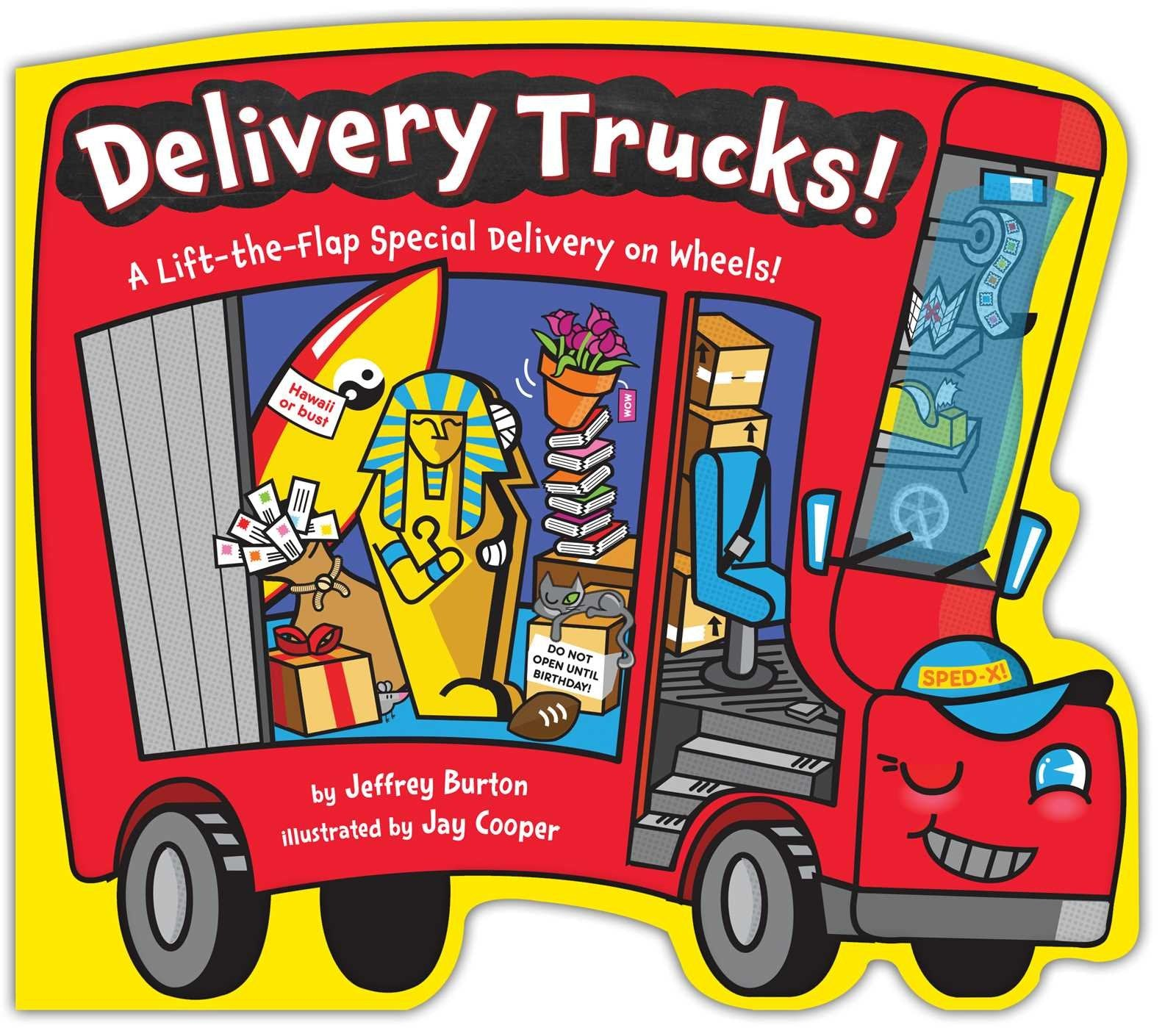 Delivery Trucks! Board Book - JKA Toys