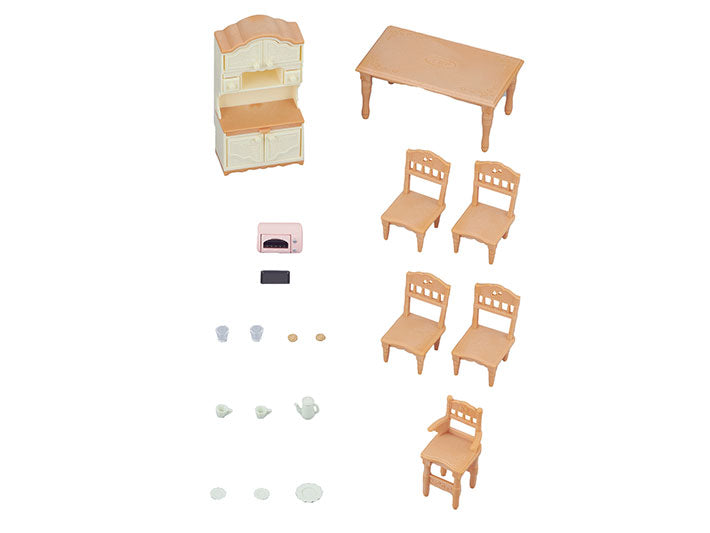Calico Critters Dining Room Set - JKA Toys