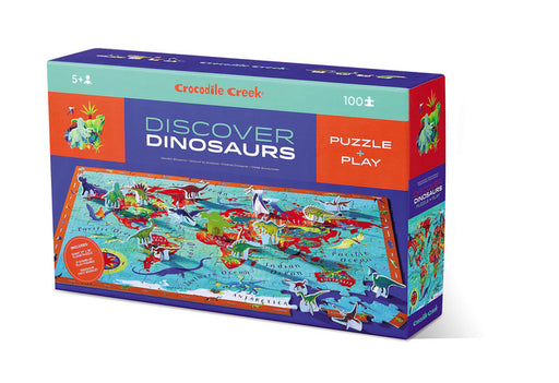 100 Piece Discover Dinosaurs Puzzle - JKA Toys
