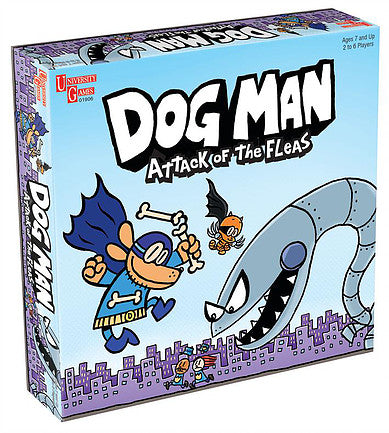Dog Man: Attack of the Fleas - JKA Toys
